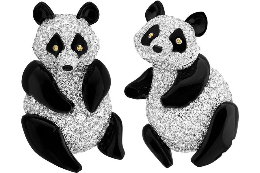 Van Cleef & Arpels - Mostra Parigi - L'Arche de Noé - soggetto panda