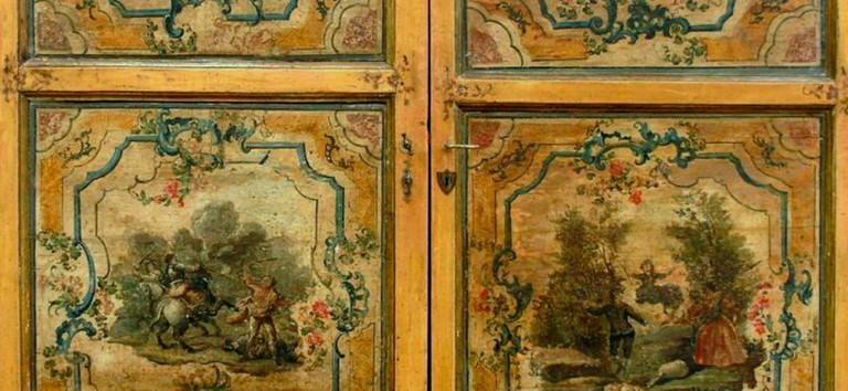 porte antiche - testata highlight - dettaglio due porte metà '700
