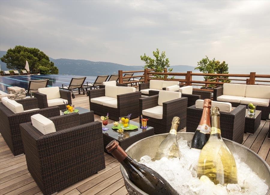 SPA Resort Lefay: dettaglio Pool Bar