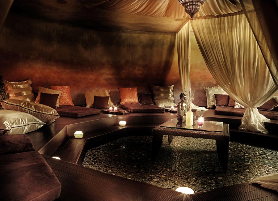 SPA Resort Lefay: dettaglio Sunset Relax Area