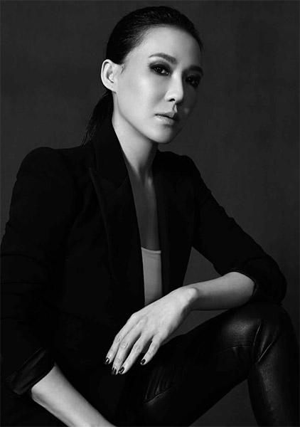 Cindy Chao - foto in bn della stilista