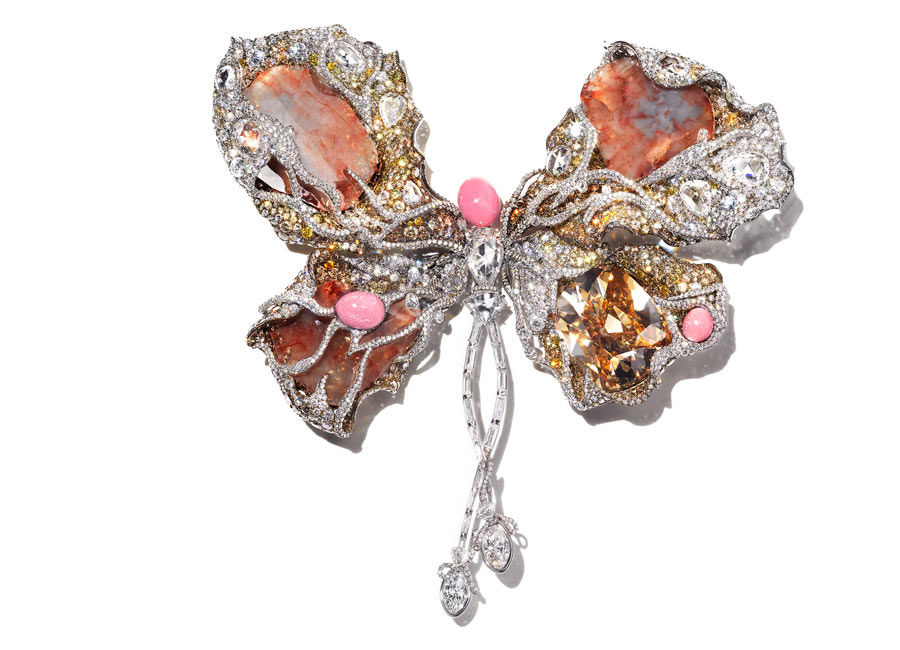 Cindy Chao - The Art Jewel 2013 - Bellarina Butterfly davanti