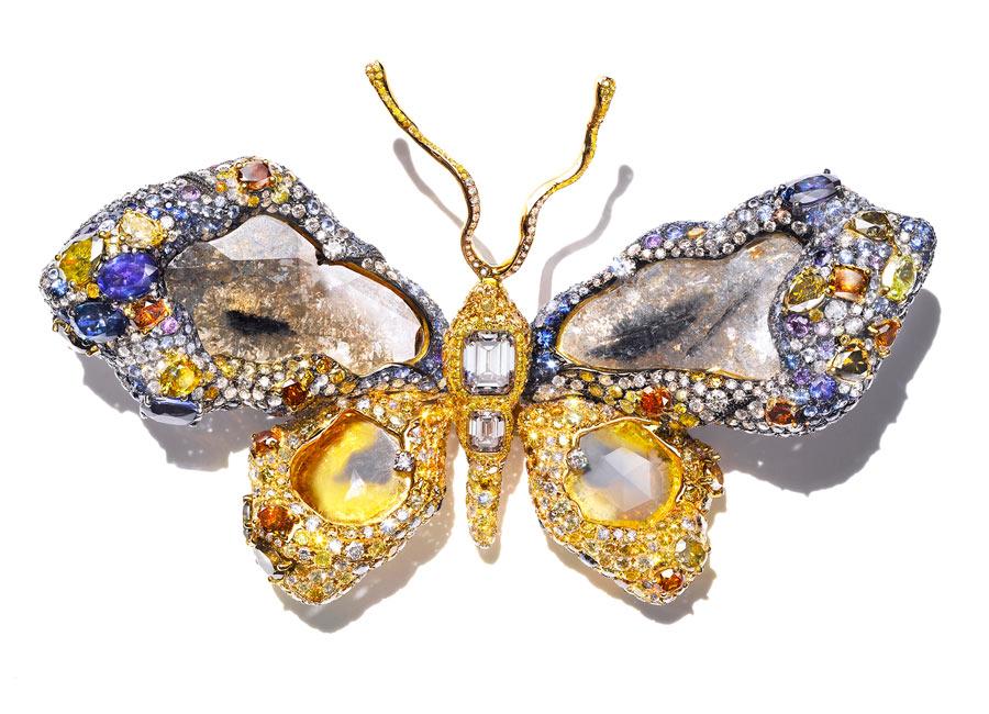 Cindy Chao - The Art Jewel 2009 - Royal Butterfly davanti