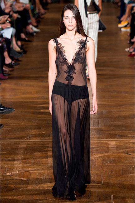 Milano Parigi - modella Lanvin