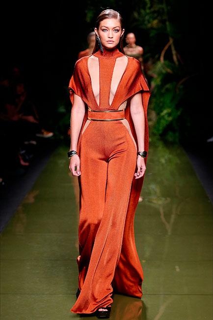 Milano Parigi - modella Balmain
