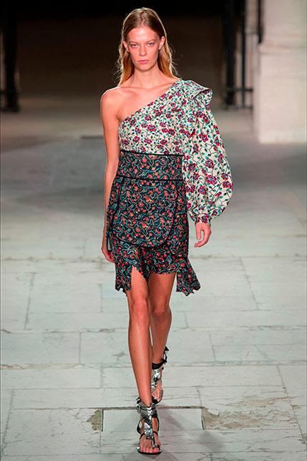 Milano Parigi - modella isabel marant