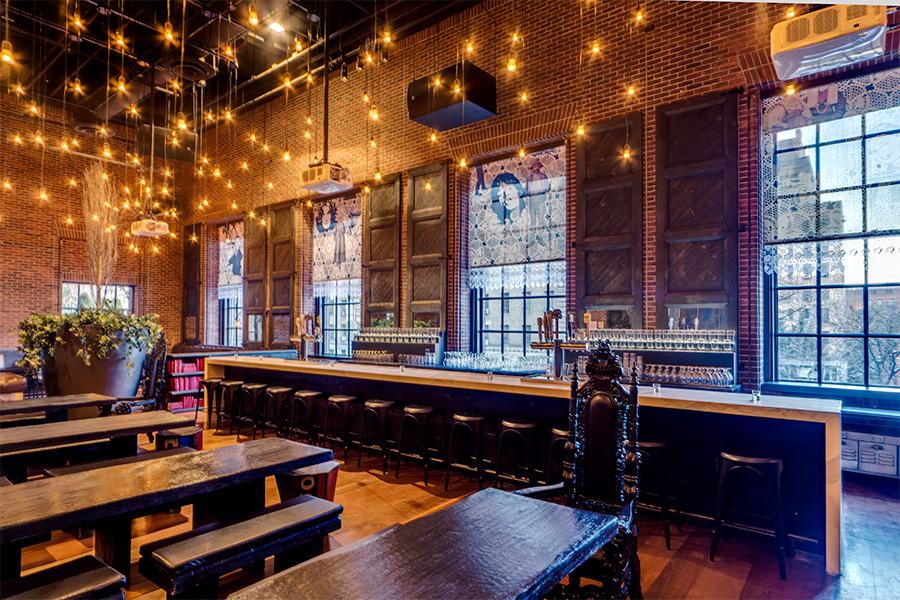 Boutique Hotel Hudson NY, bar opere francesco clemente