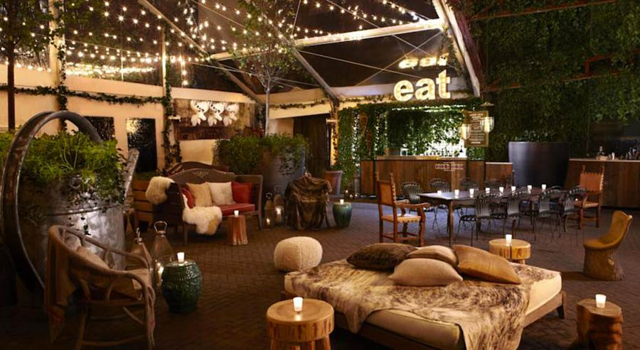 Boutique Hotel Hudson NY, bar notturno - eat