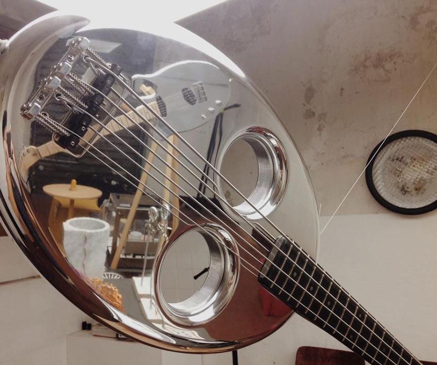 design week - una chitarra Noah Guitars