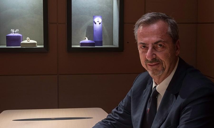 Vherner: Carlo Traglio nello show room milanese