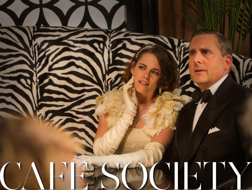 Café Society: immagine tratta dal fim con i protagonisti Kristen Steward e Steve Carrell