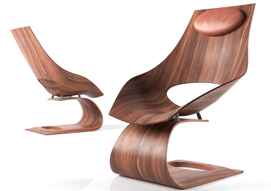 design days 2016 - Seduta Dream Chai di Tadao Ando designer di eccellenza alla mostra di Milano