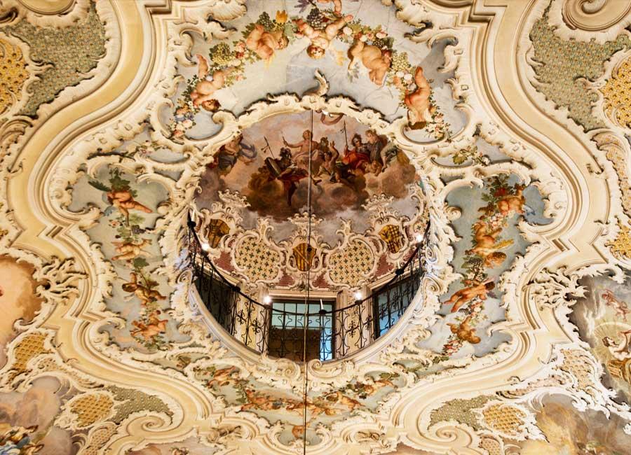 Affresco di Palazzo Biscari