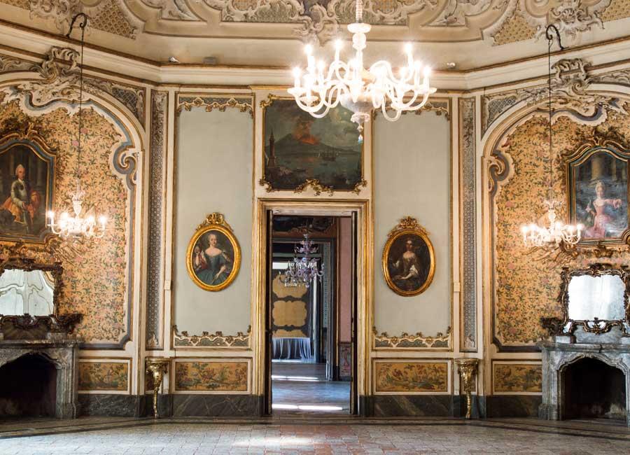 Ingresso Salone di Palazzo Biscari