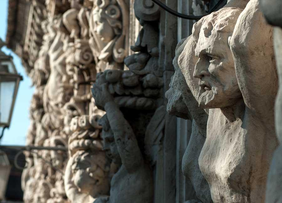 Particolarei di Palazzo Biscari