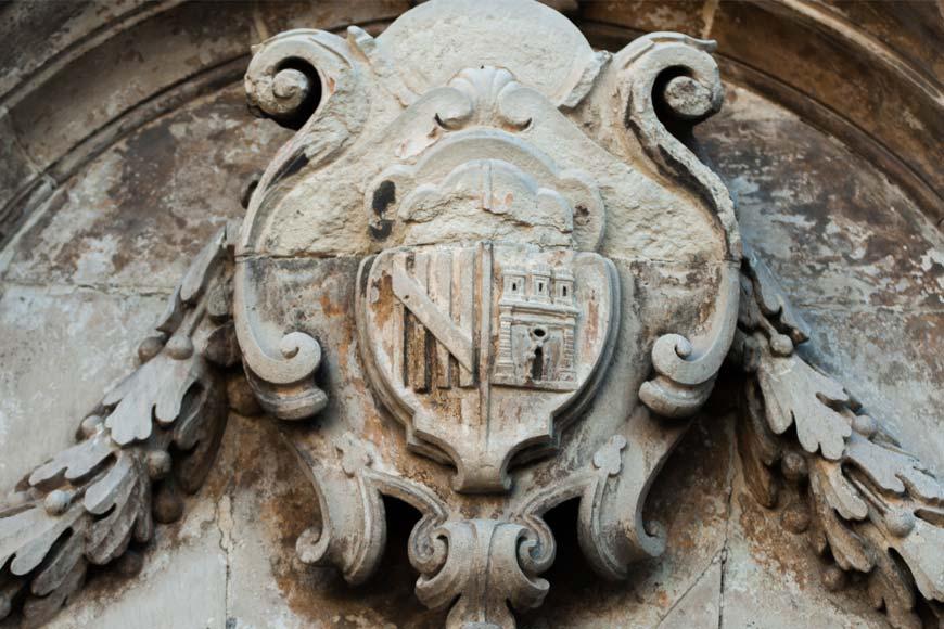 L'effige di Palazzo Biscari