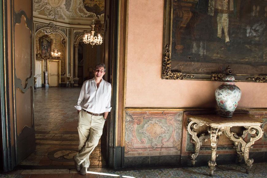 Ruggero Moncada a Palazzo Biscari