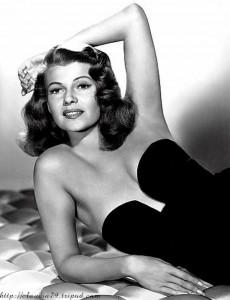 Little Black dress - Rita Hayworth