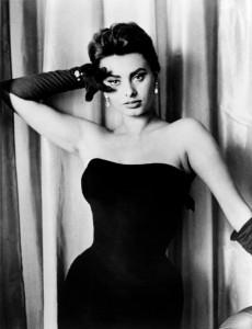 Little Black dress - Sofia Loren