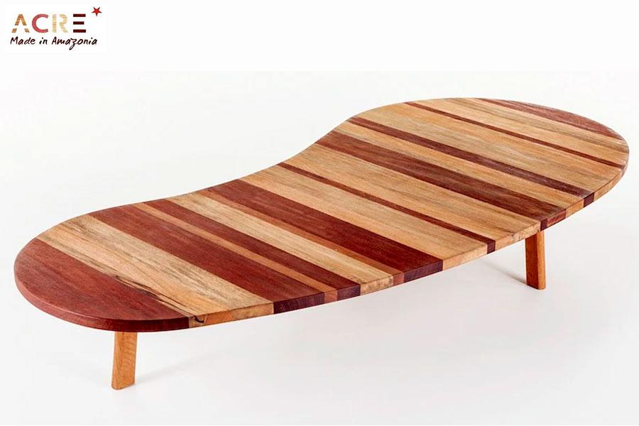 design week - tavolo basso per interni linea acre
