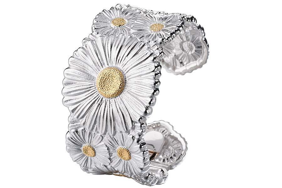 Buccellati - Gallery Margherita - bracciale alto argento