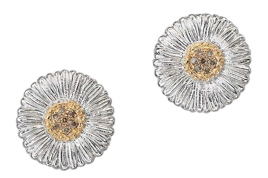 Buccellati - Gallery Margherita - orecchini bottone diamanti