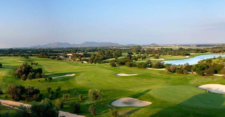 Golf Resort is molas - nuove abitazioni di lusso in Sardegna - campo da golf
