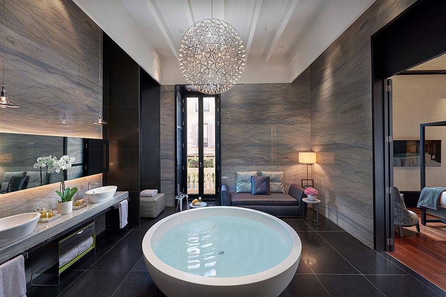 Luxury Hotel Mandarin Oriental Milan - suite presidenziale bagno