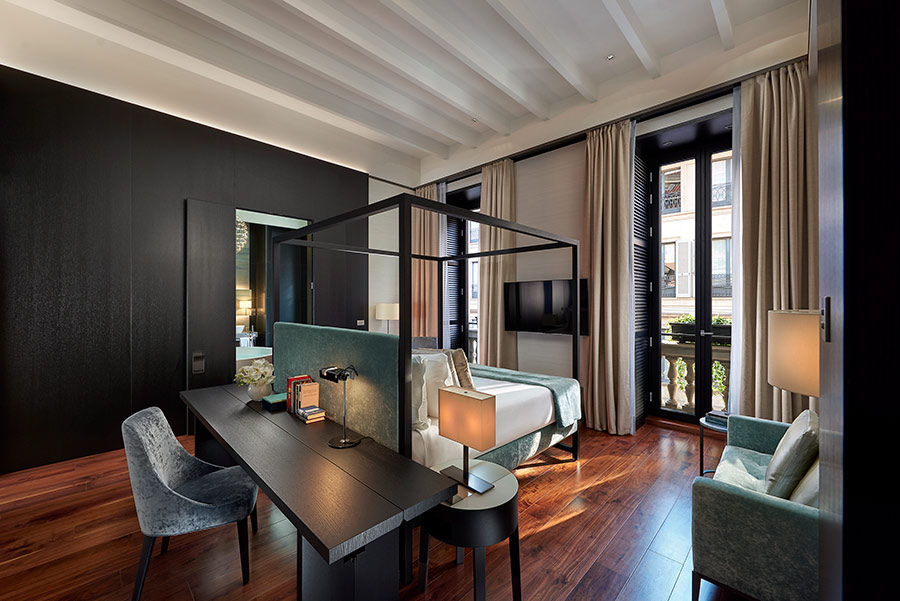 Luxury Hotel Mandarin Oriental Milan - suite presidenziale camera da letto