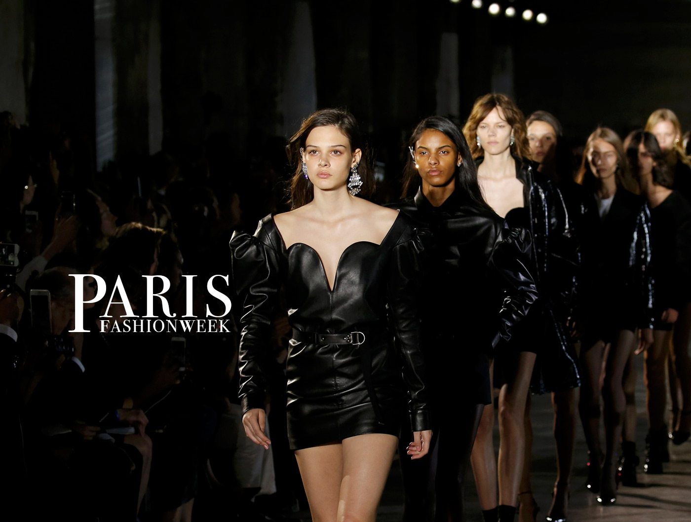 paris fashion week alta moda haute couture glamour saint laurent