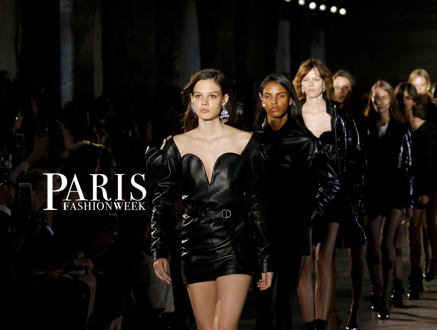 paris fashion week alta moda haute couture glamour saint laurent