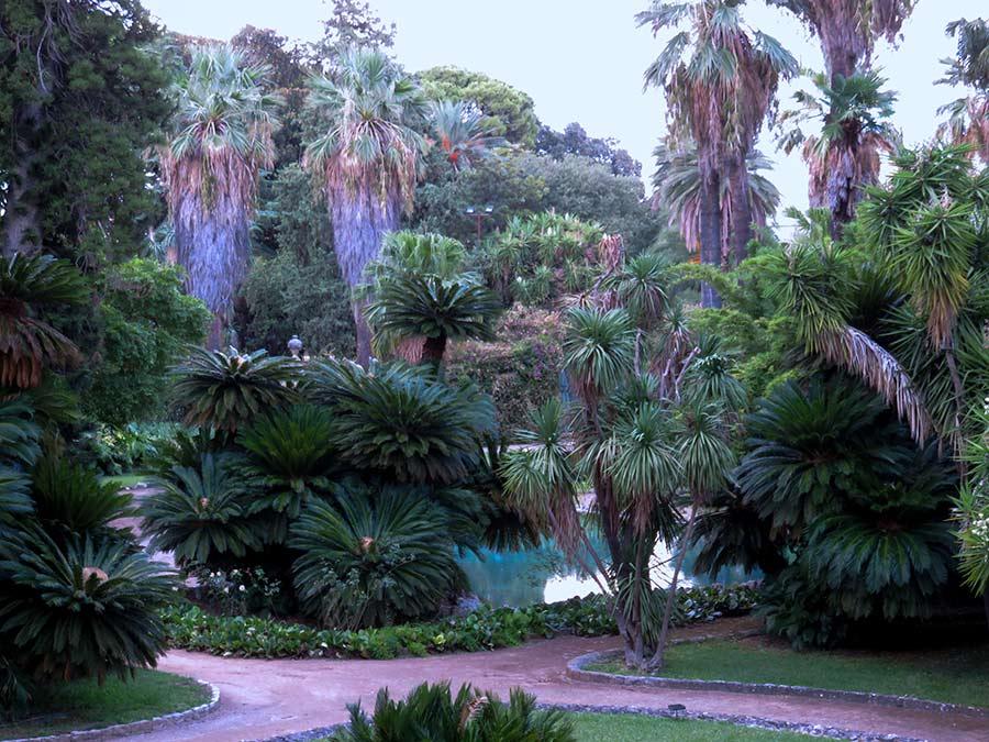 Ville di Lusso: villa tasca, il giardino