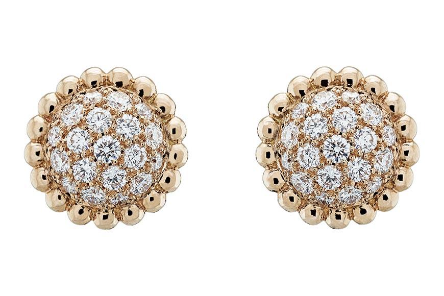 Van Cleef & Arpels - collezione Perlée diamanti orecchini
