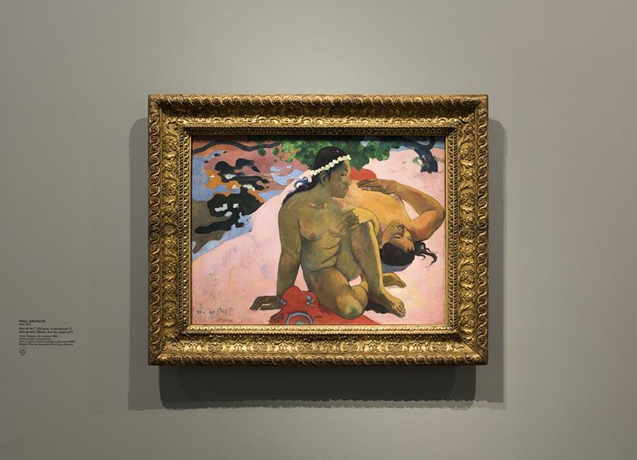 Paul Gauguin, Aha oé feii ? (Eh quoi, tu es jalouse ?),1892, olio su tela ©Fondation Louis Vuitton/ Martin Argyroglo