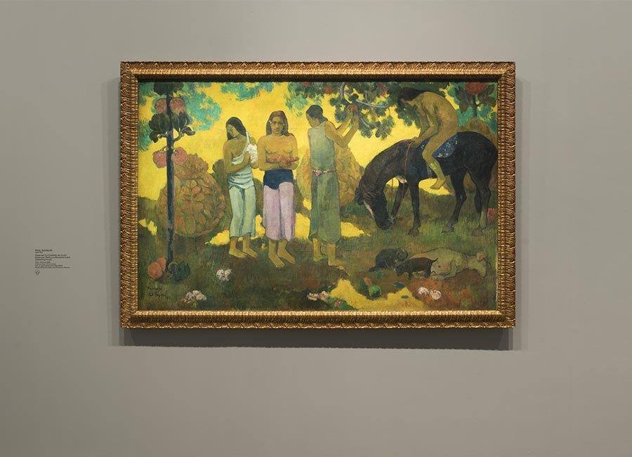 Paul Gauguin, Ruperupe (La Cueillette des fruits),1899, olio su tela, ©Fondation Louis Vuitton/ Martin Argyroglo