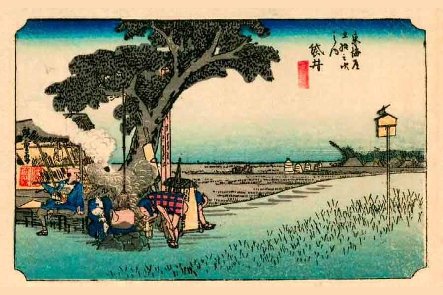 Braquenié - grand-corail-woodblock-printing-ukiyo-e-01