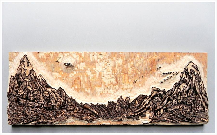 Braquenié - grand-corail-woodblock-printing-ukiyo-e tecnica 01