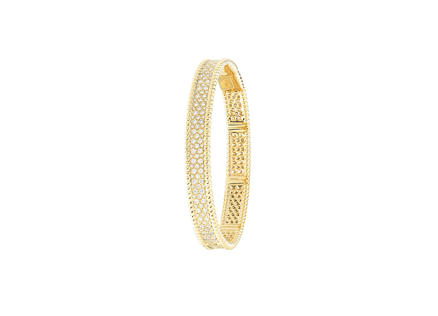 Van Cleef & Arpels - perlee-bracelet-yellow-gold-diamonds-medium-model_484435
