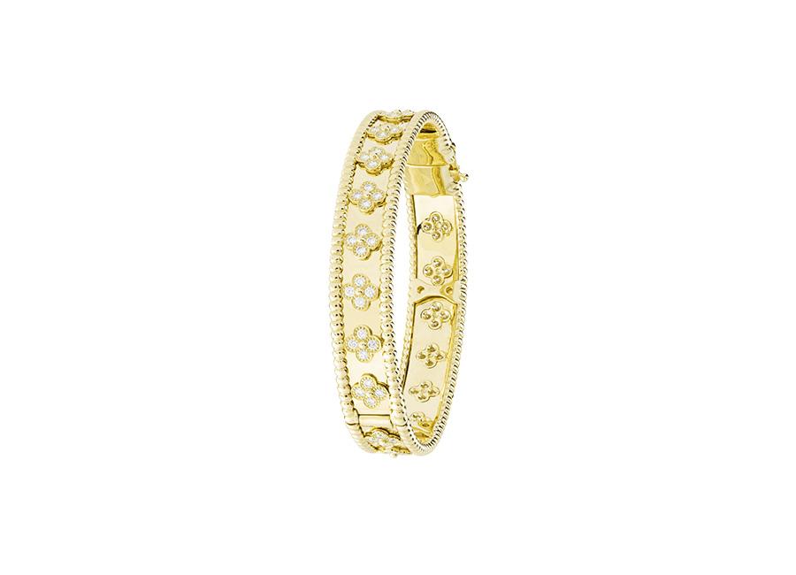 Van Cleef & Arpels - perlee-clover-bracelet-yellow-gold-diamonds-medium-model_484434