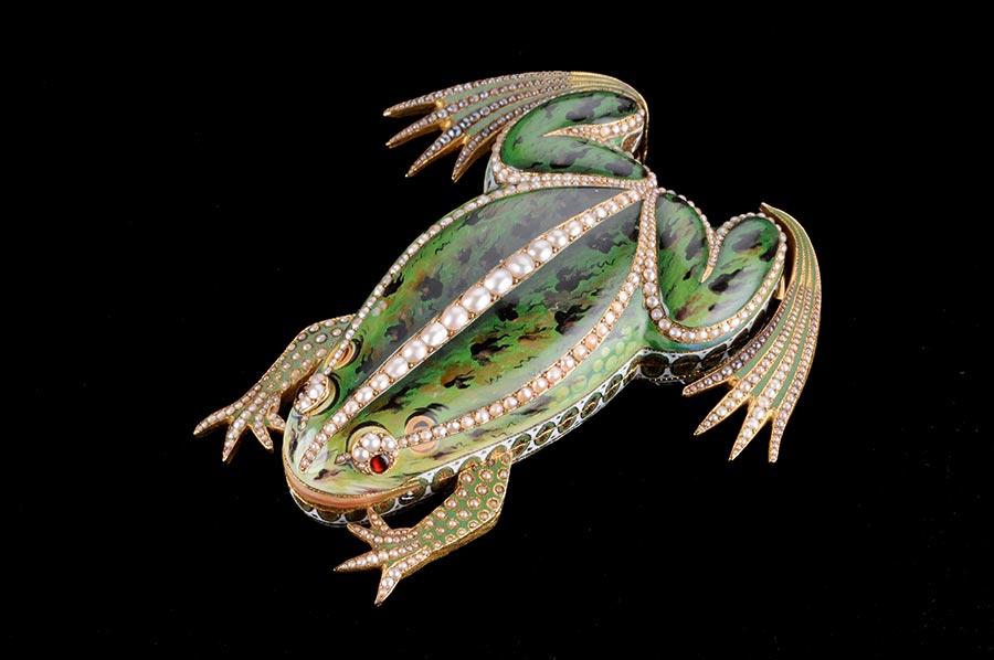 Parmigiani Fleurier grenouille automate