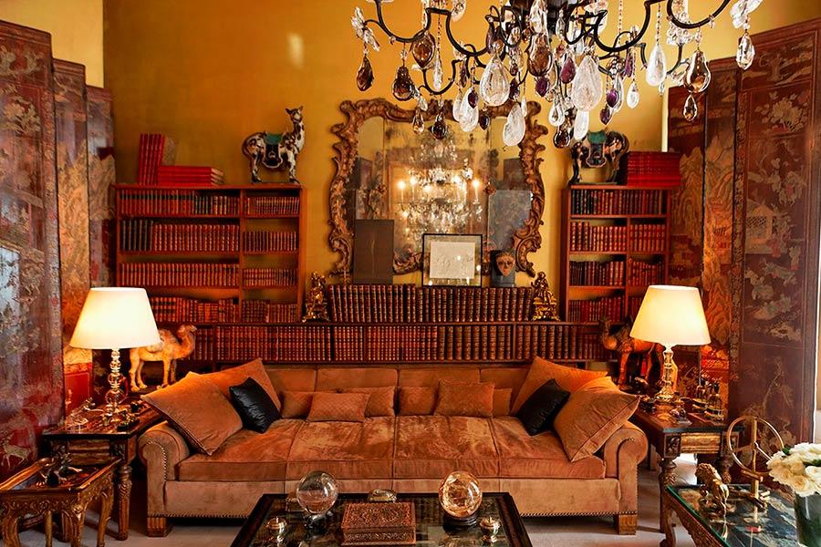 Pierre Frey, salotto dell'appartamento di Coco Chanel