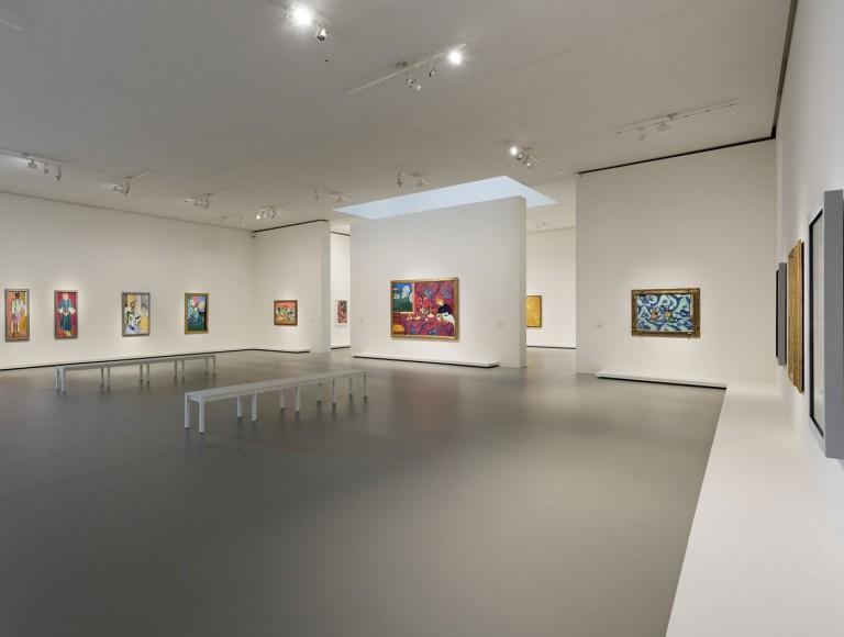 Fondation Louis Vuitton, le sale interne che accolgono le opere del collezionista Sergei Shchukin