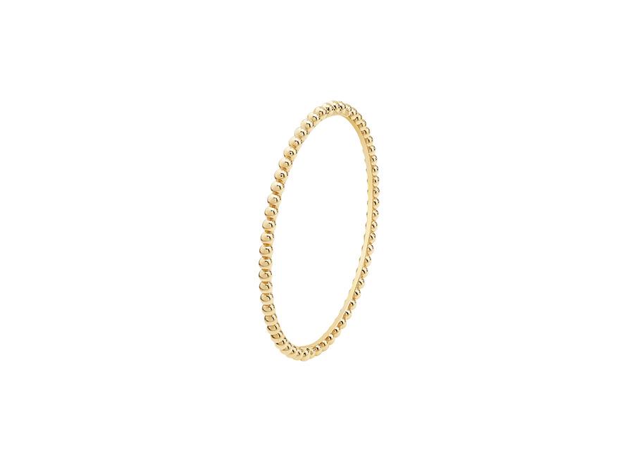 Van Cleef & Arpels - bracciale Perlée oro giallo