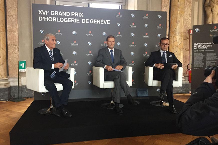 Girard-Perregaux - foto conferenza