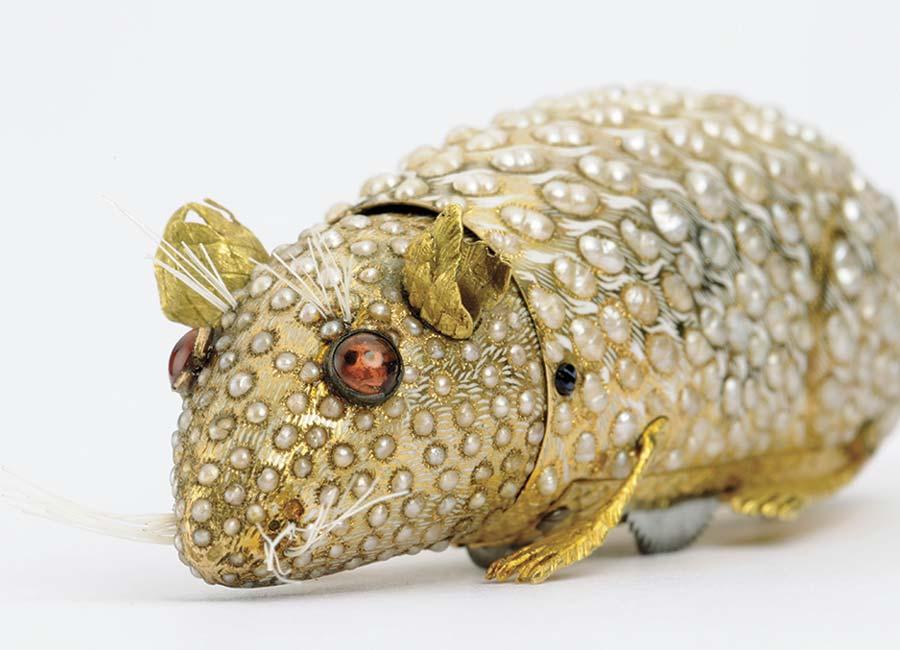 Milano Parmigiani Fleurier festeggia vent'anni oggetto restaurato topino prezioso