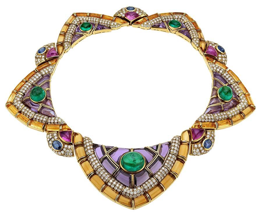 bulgari-collana-oro-smeraldi-ametiste-citrini-tormaline-rosa-zaffiri-diamanti-1991