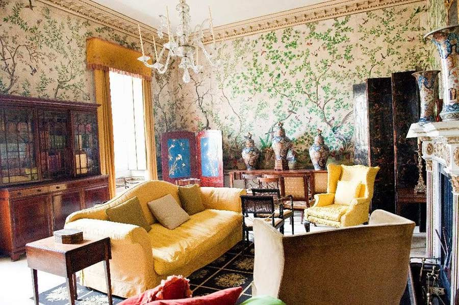 nancy lancaster il guru dello stile country. Black Bedroom Furniture Sets. Home Design Ideas