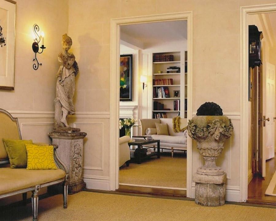 amanda nisbet: Interior-Designer-Foto8-Dettagli-Stilistici-Classici-Arredamento-In-Contrasto-Tra-Stile-Classico-e-Contemporaneo