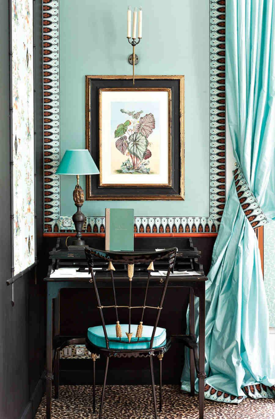 Madeleine Castaing-interior-designer-foto-7-arredamento-ufficio-dettagli-colore-Castaing-Blu