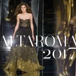 Al via AltaRoma 2017: l'alta moda italiana accanto alle giovani promesse